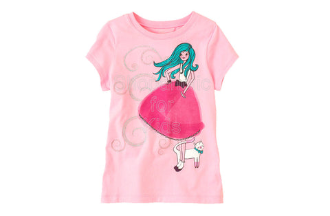 Children's Place Dress Girl Graphic Tee
