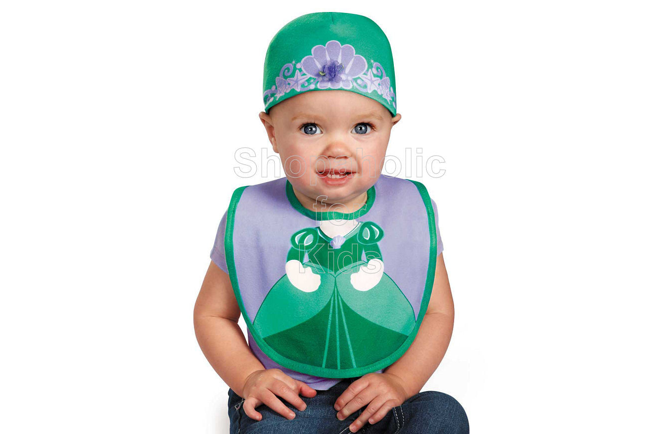 Disney Princess Ariel Cap and Bib - Shopaholic for Kids