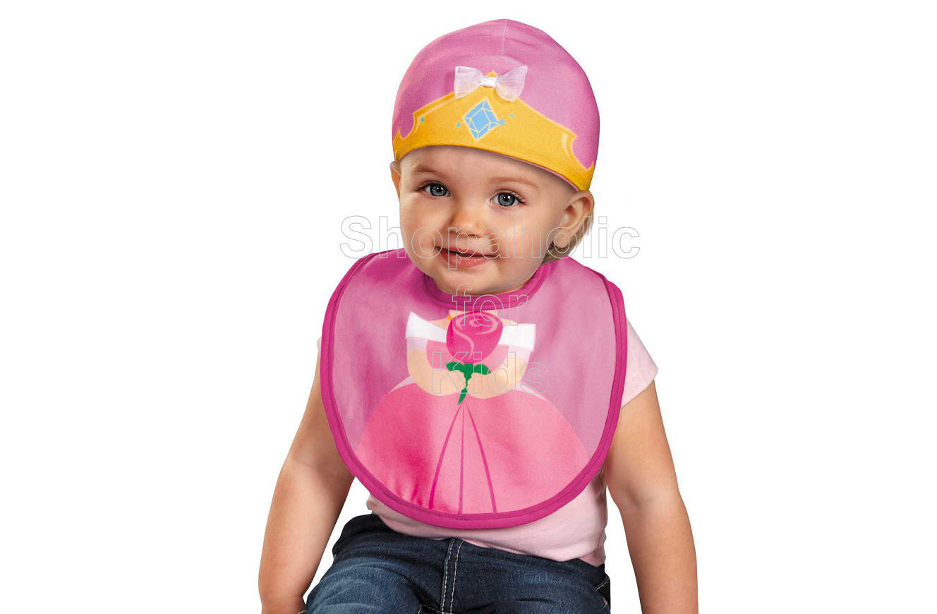 Disney Princess Aurora Cap and Bib - Shopaholic for Kids