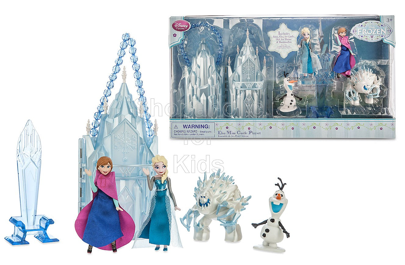 Disney Frozen Elsa Mini Castle Play Set - Shopaholic for Kids