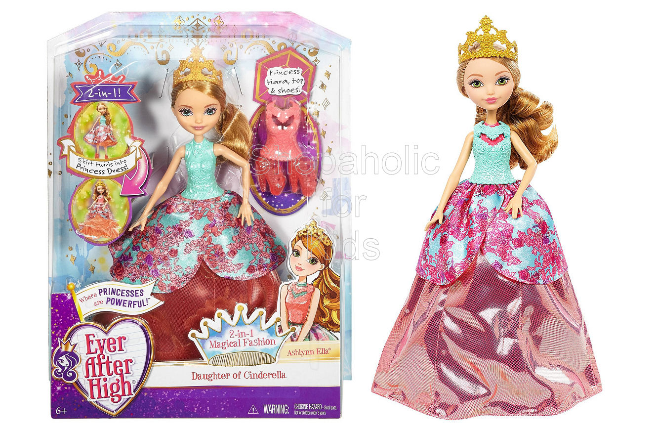 Ever After High 2-in-1 Magical Fashion Doll - Ashlynn Ella