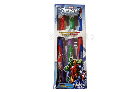 Firefly Marvel Soft Toothbrush, Pack of 3