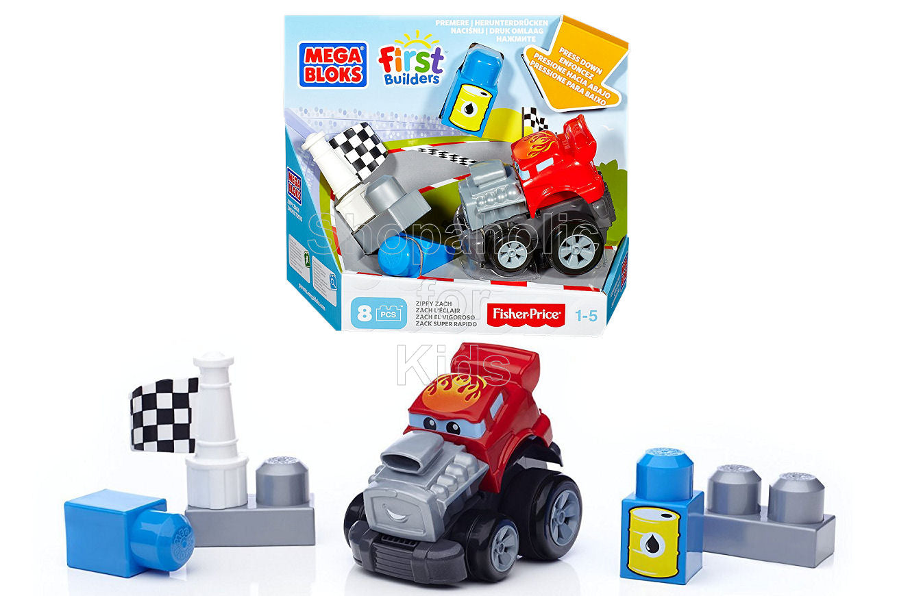 Mega Bloks First Builders Zippy Zach - Shopaholic for Kids