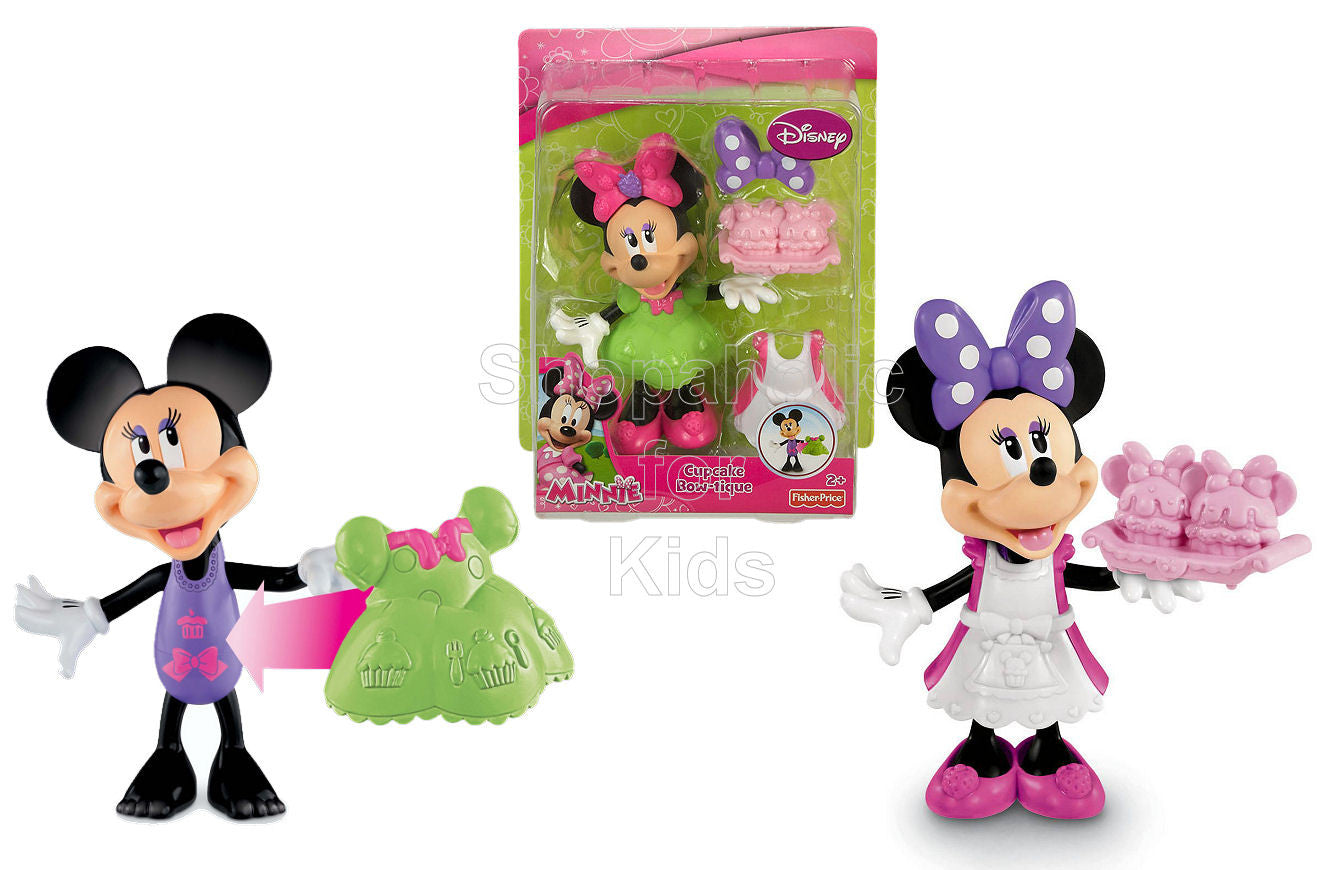 Fisher-Price Minnie Mouse Basic Cupcake Bow-Tique Play Set - Shopaholic for Kids