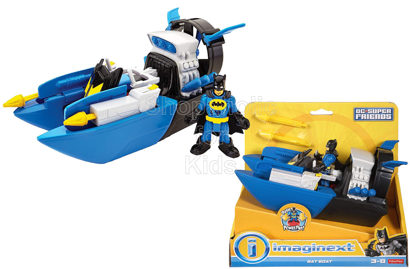 Fisher-Price Imaginext DC Super Friends, Bat Boat - Shopaholic for Kids