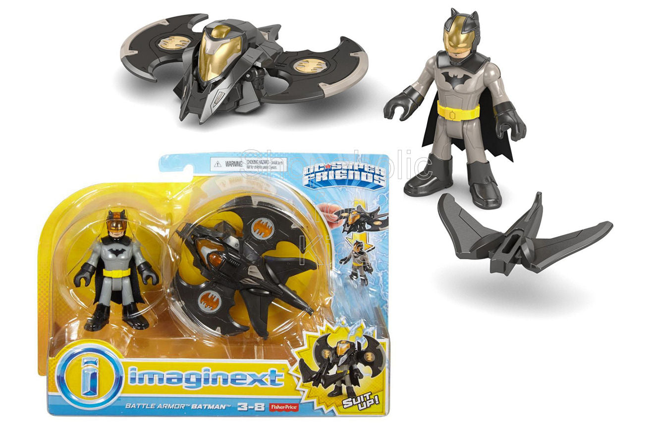 Fisher-Price Imaginext DC Comics Super Friends - Battle Armor Batman