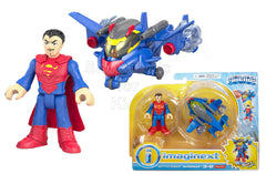 Fisher-Price Imaginext DC Super Friends Battle Armor Superman Play Set