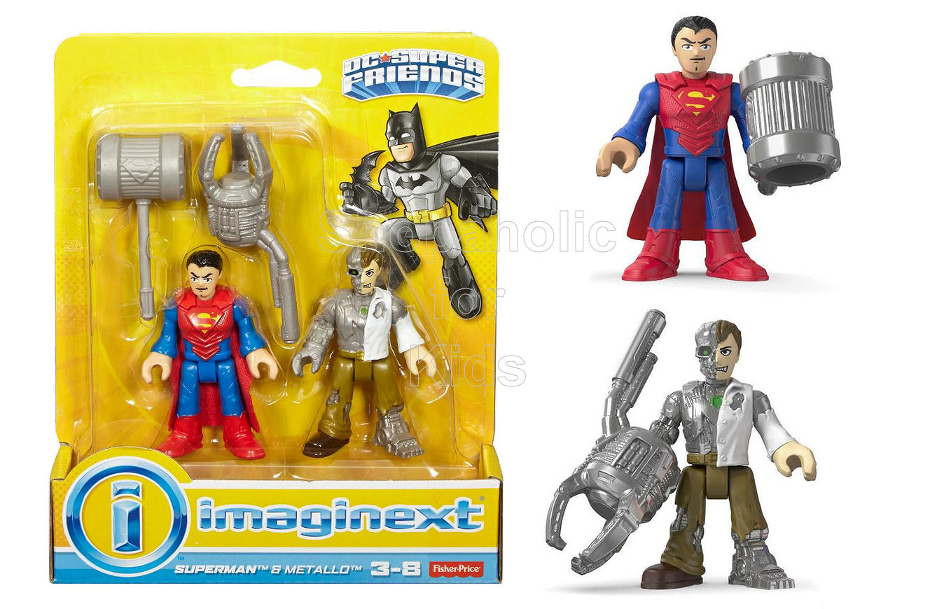 Fisher-Price Imaginext DC Super Friends, Superman & Metallo