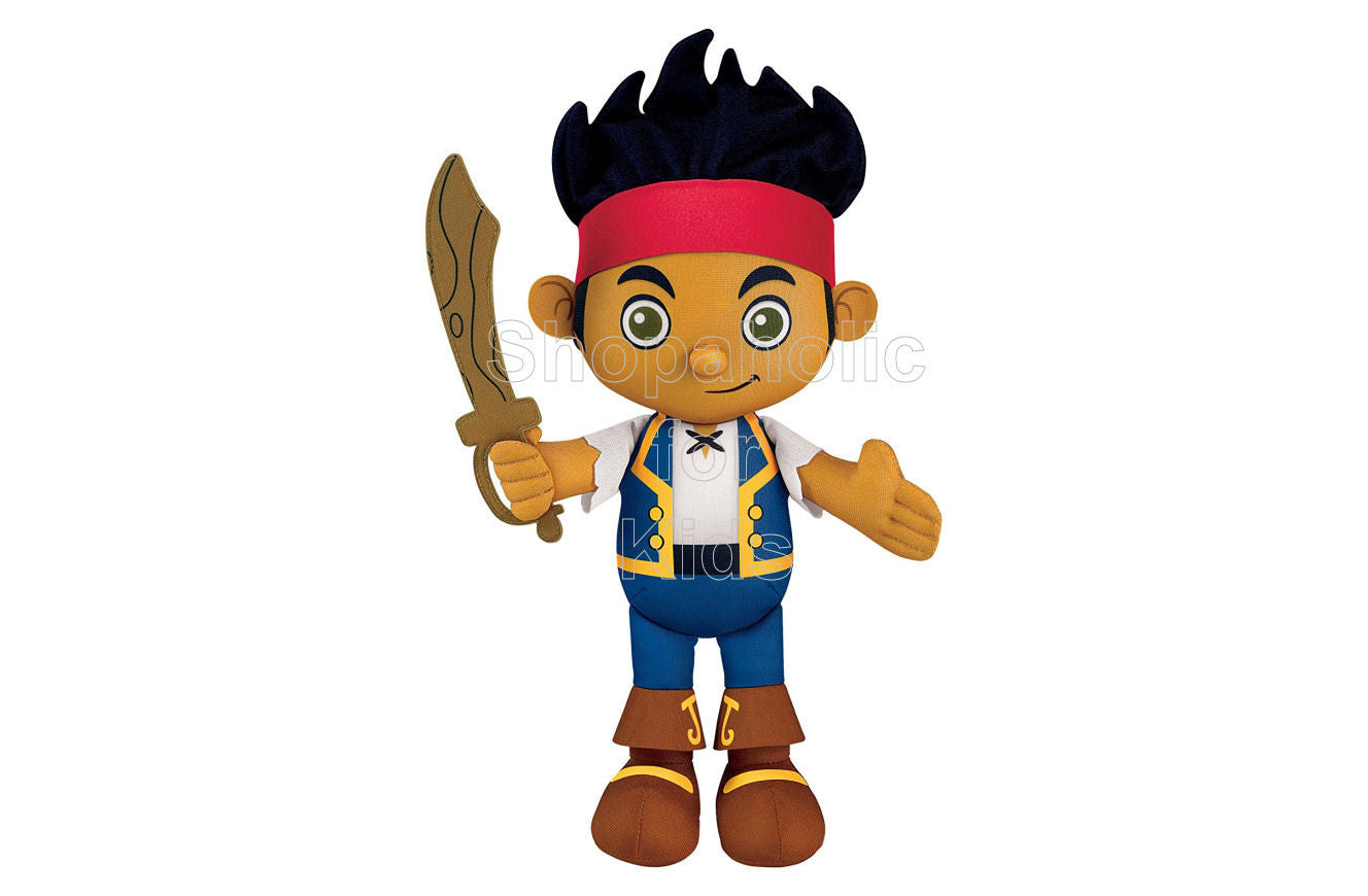 Jake and the Never Land Pirates Plush Doll - Shopaholic for Kids