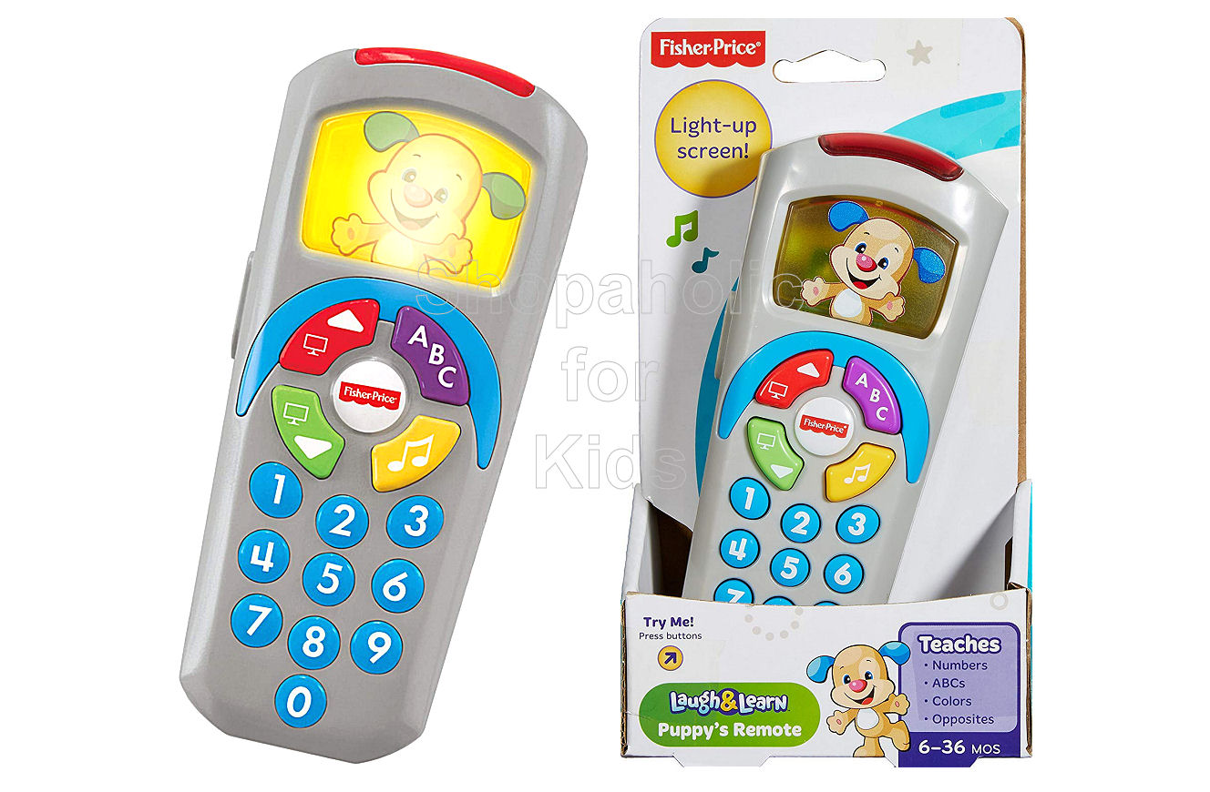Fisher-Price Laugh & Learn Puppy's Remote - Shopaholic for Kids