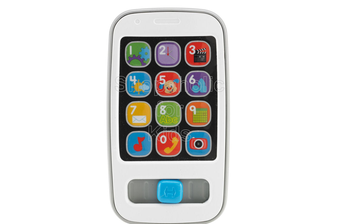 Fisher-Price Laugh & Learn Smart Phone - White - Shopaholic for Kids