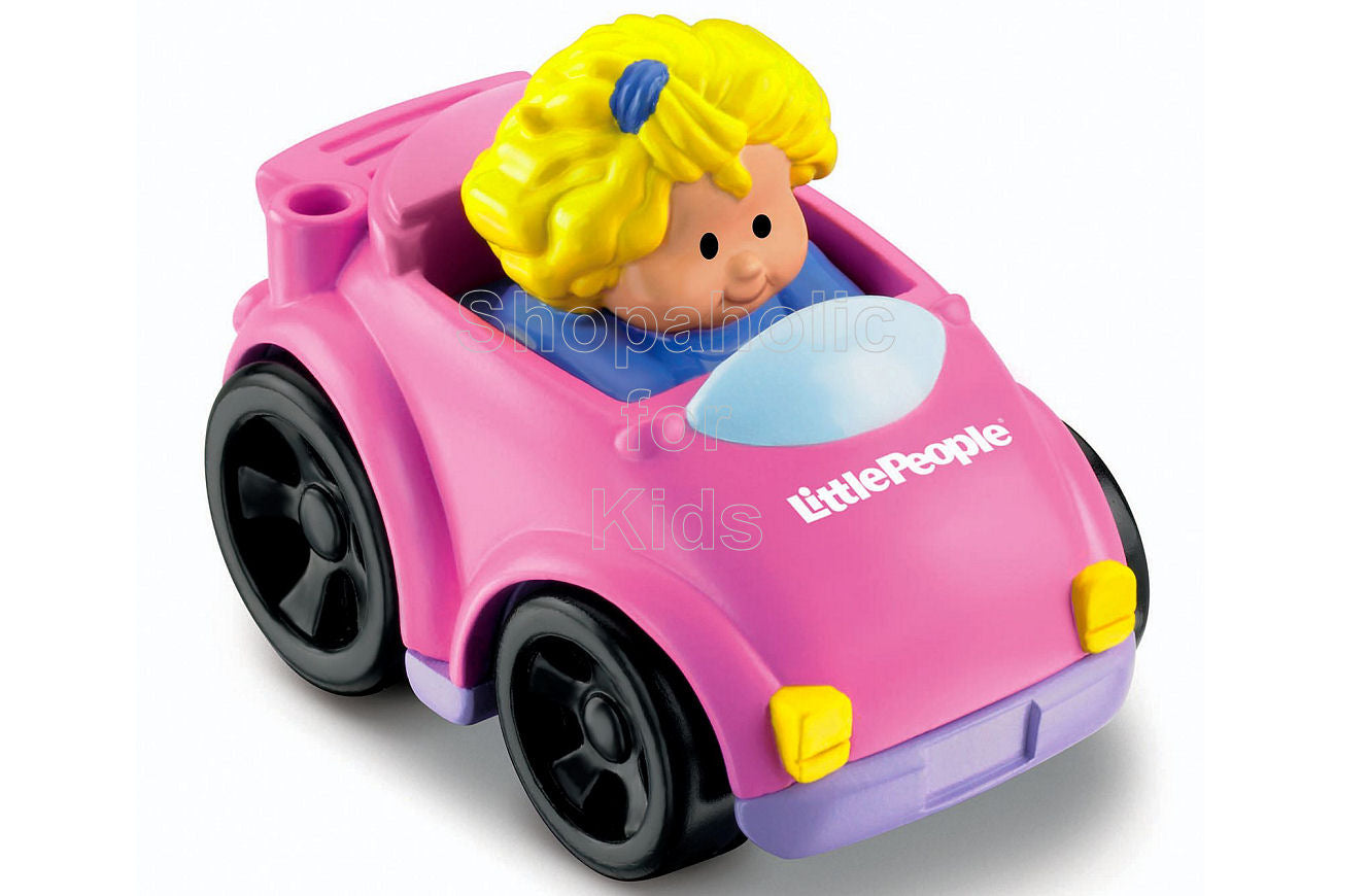 Fisher-Price Little People Wheelies Coupe