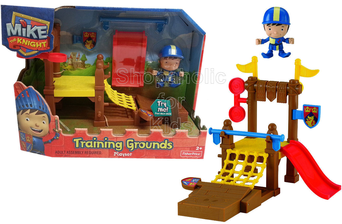 Fisher-Price   Mike The Knight Training Grounds Playset - Shopaholic for Kids