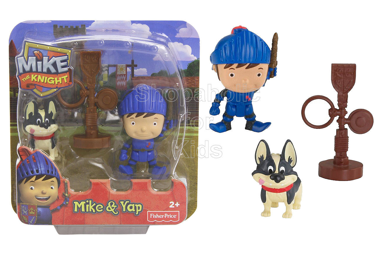 Fisher-Price Mike the Knight Mike, Training Post and Yap Figure Pack - Shopaholic for Kids
