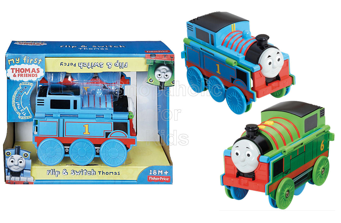 8827c6285919 Fisher-Price My First Thomas & Friends Flip & Switch Thomas & Percy