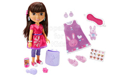 Fisher-Price Nickelodeon Dora and Friends Friendship Adventure Dora Doll and Slumber Party Fashion