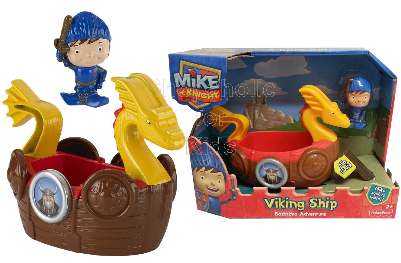 Fisher-Price Nickelodeon's Mike The Knight: Bath Viking Adventure Ship - Shopaholic for Kids
