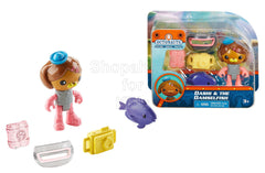 Fisher-Price Octonauts Dashi and The Damselfish Figure Gift Set
