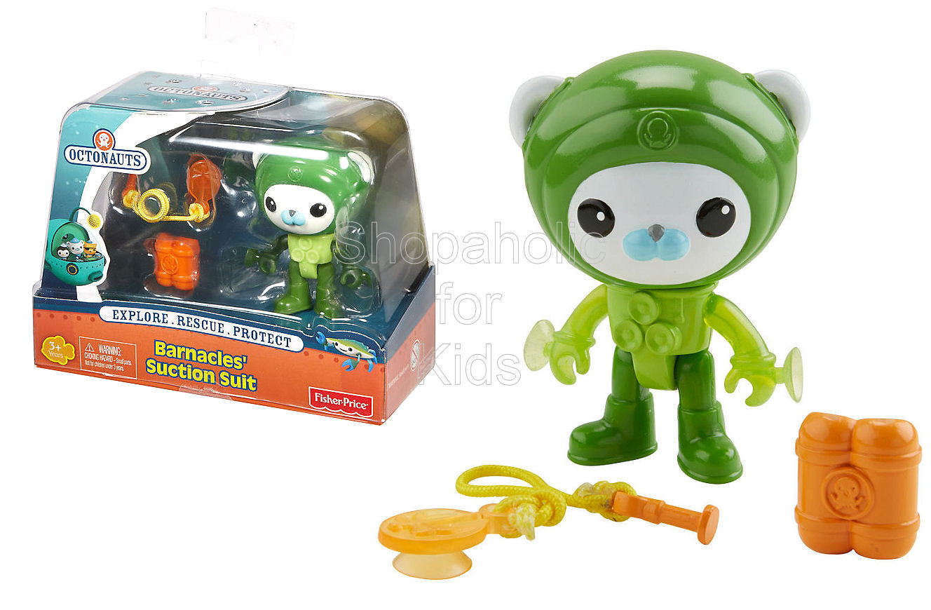 Fisher-Price Octonauts Figure and Accessory Pack - Barnacles' Suction Suit