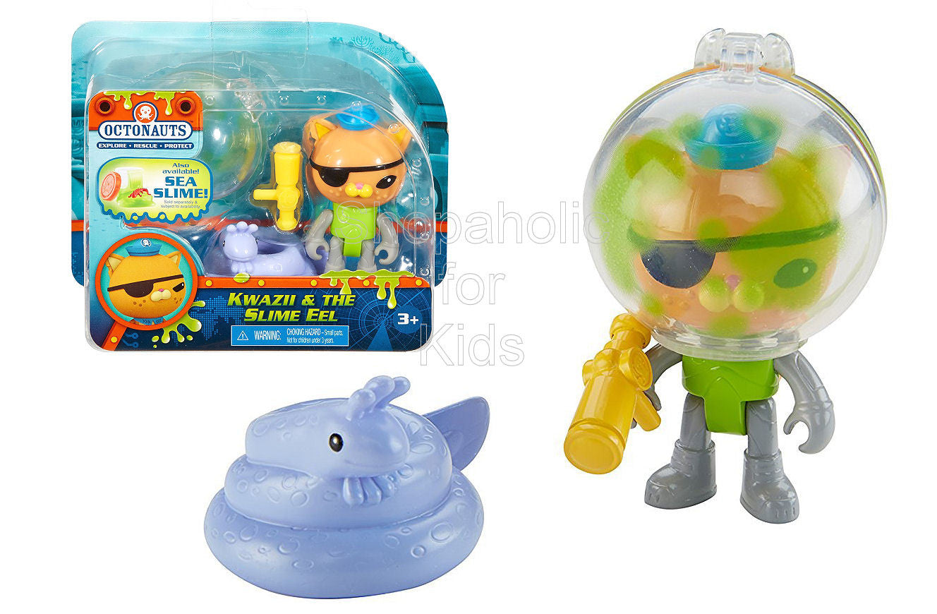 Fisher-Price Octonauts Kwazii & the Slime Eel