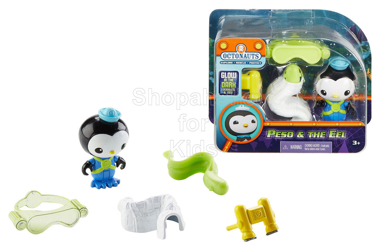 Fisher-Price Octonauts Peso and The Eel Figure Gift Set