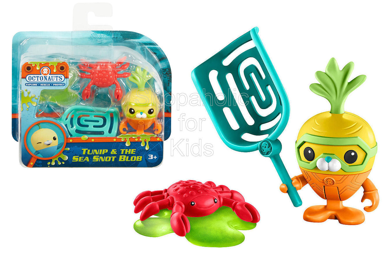 Fisher-Price Octonauts Tunip & the Sea Snot Blob Figure Pack - Shopaholic for Kids