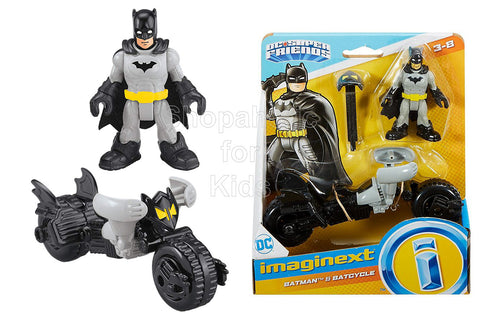 Fisher-Price Imaginext DC Comics Super Friends, Batman and Batcycle