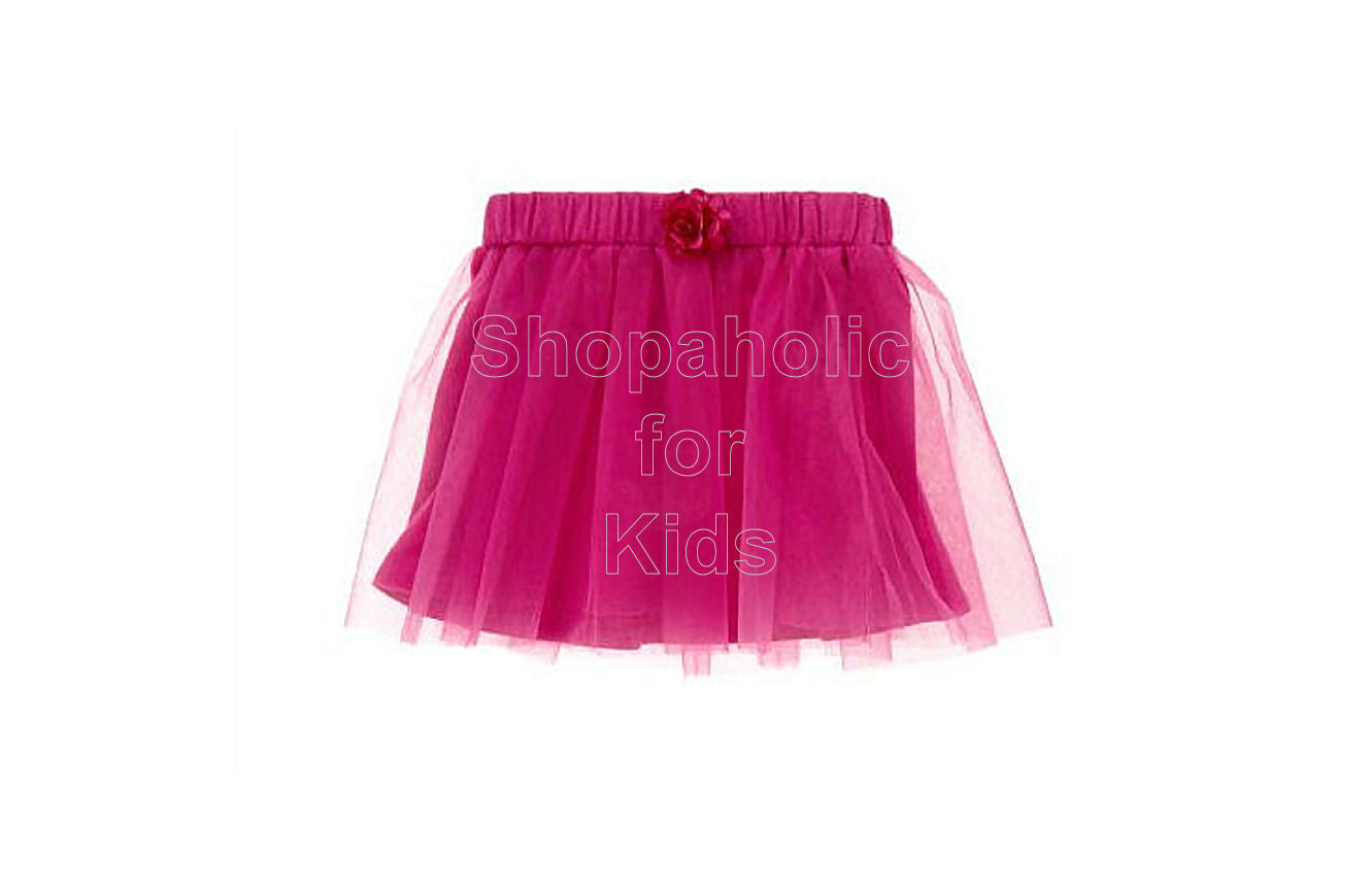 Crazy8 Flower Corsage Tulle Skirt - Shopaholic for Kids