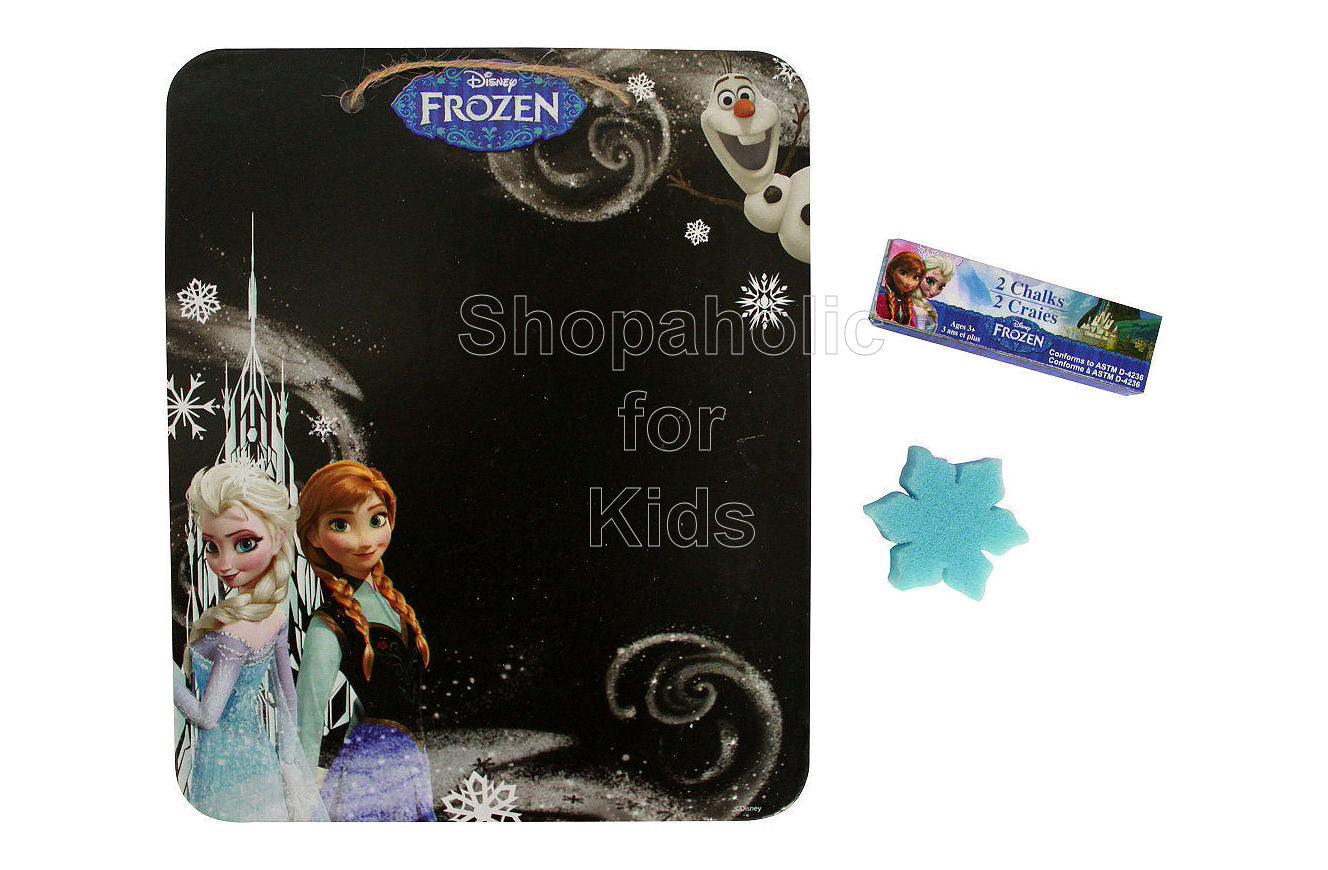 Disney Frozen Chalkboard Sign Set - Shopaholic for Kids