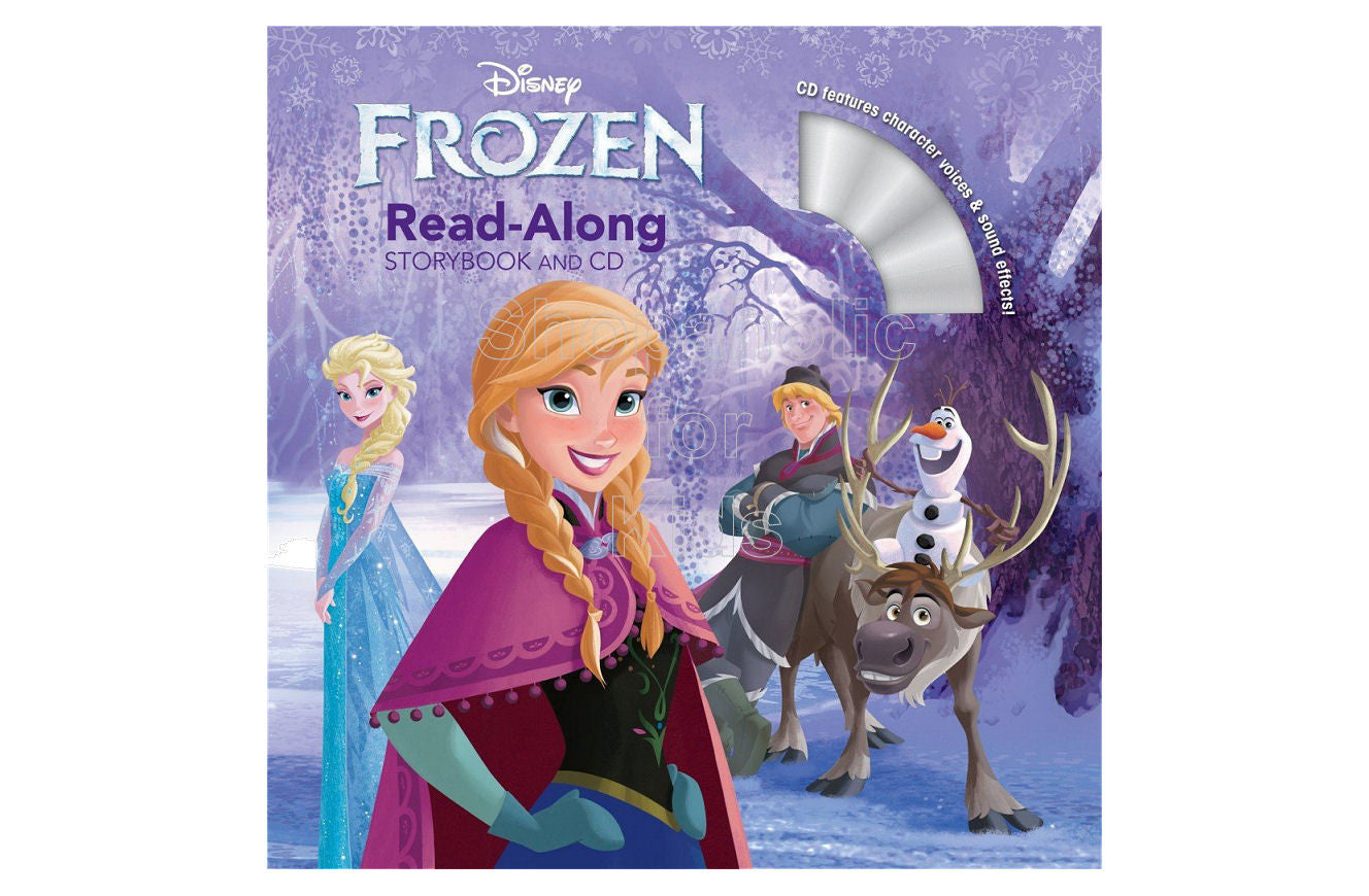 Disney Frozen Read-Along Storybook and CD - Shopaholic for Kids