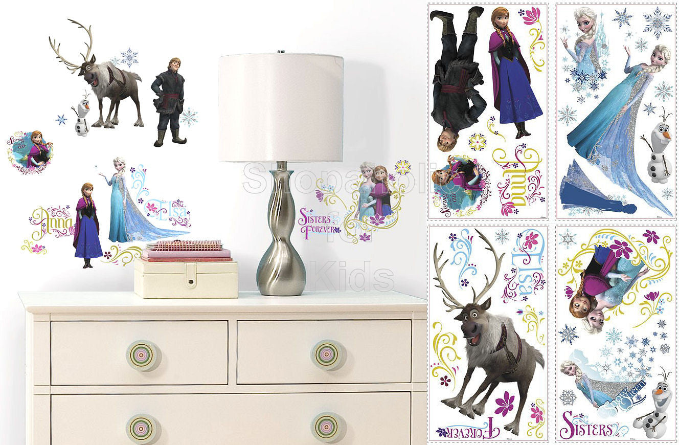 Frozen Wall Decals / Wall Sticker - Shopaholic for Kids