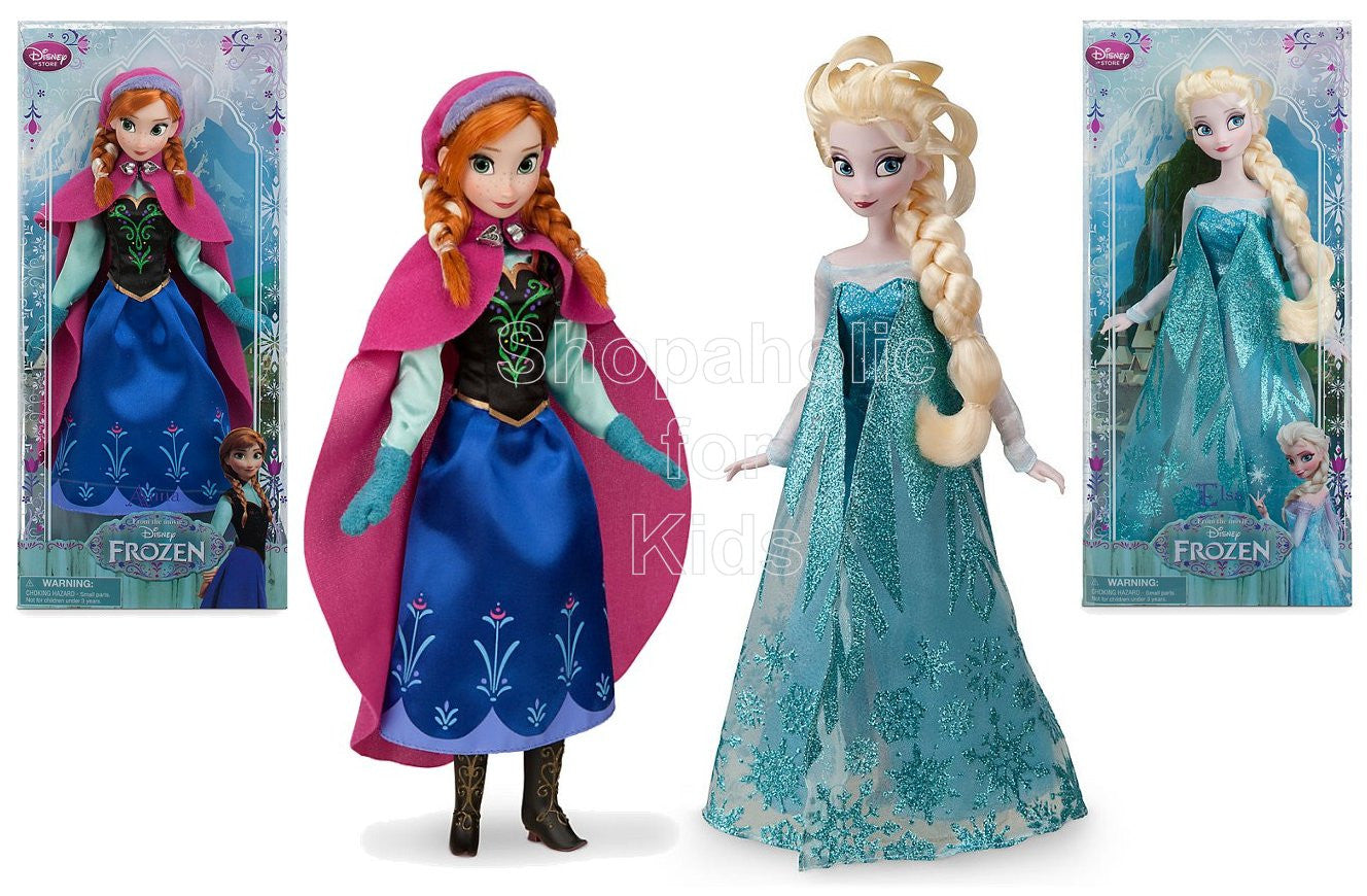 Elsa and Anna Classic Doll Set - Frozen - Disneystore