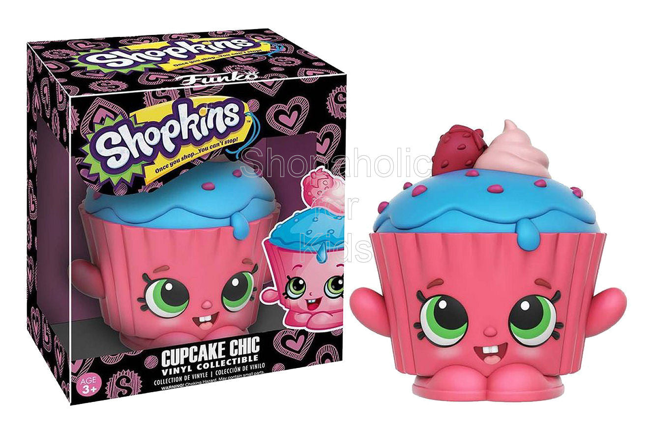 Funko Vinyl Shopkins Figure - Cupcake Chic - Shopaholic for Kids