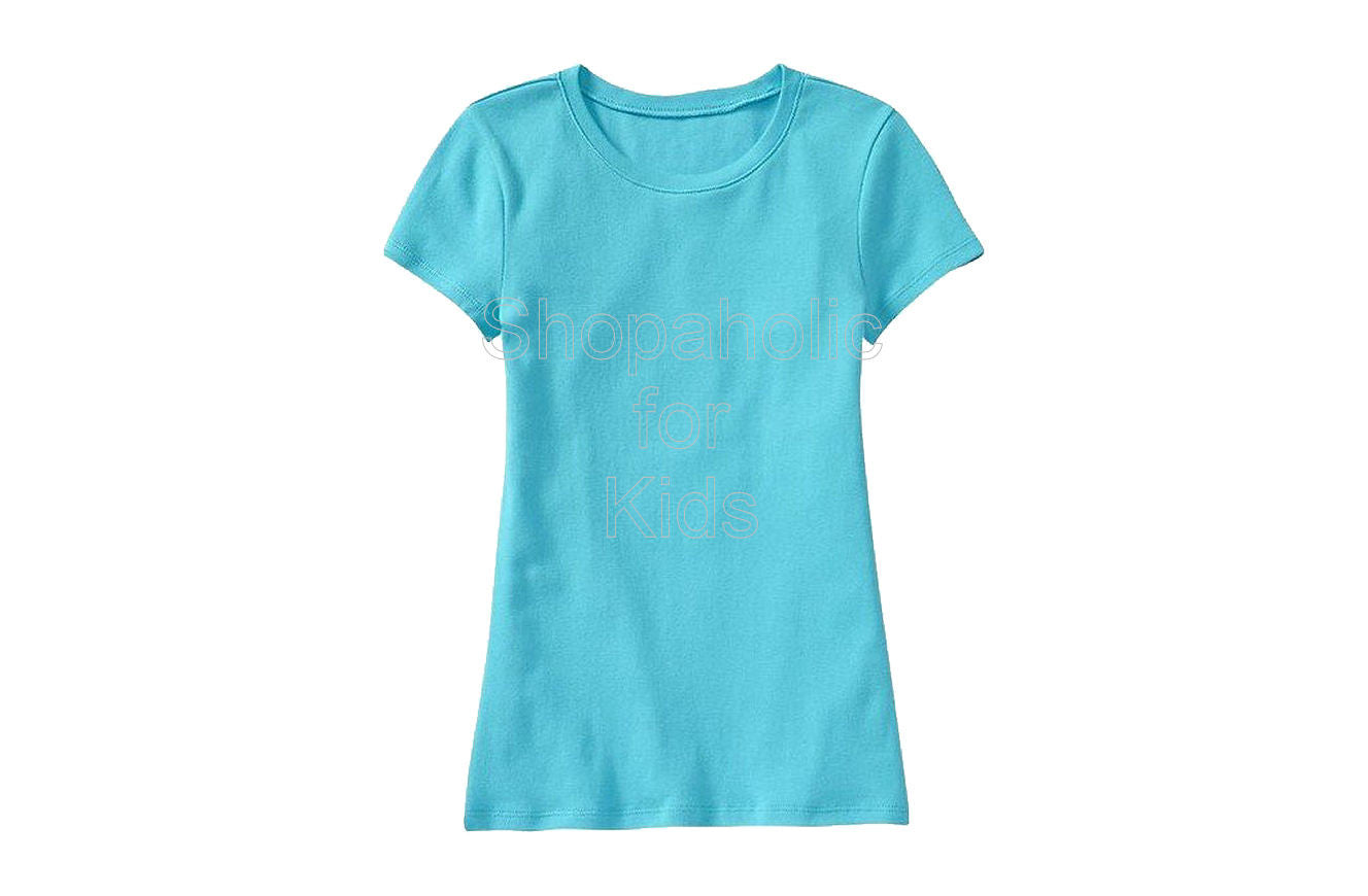 Old Navy Girls Crew-Neck Tees - Katies Kayak Blue - Shopaholic for Kids