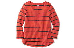 Old Navy Girls Slub-Knit Scoop-Neck Tee