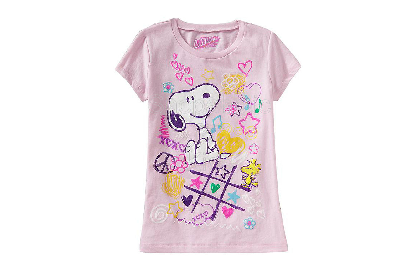 Old Navy Snoopy & Woodstock Pink - Shopaholic for Kids