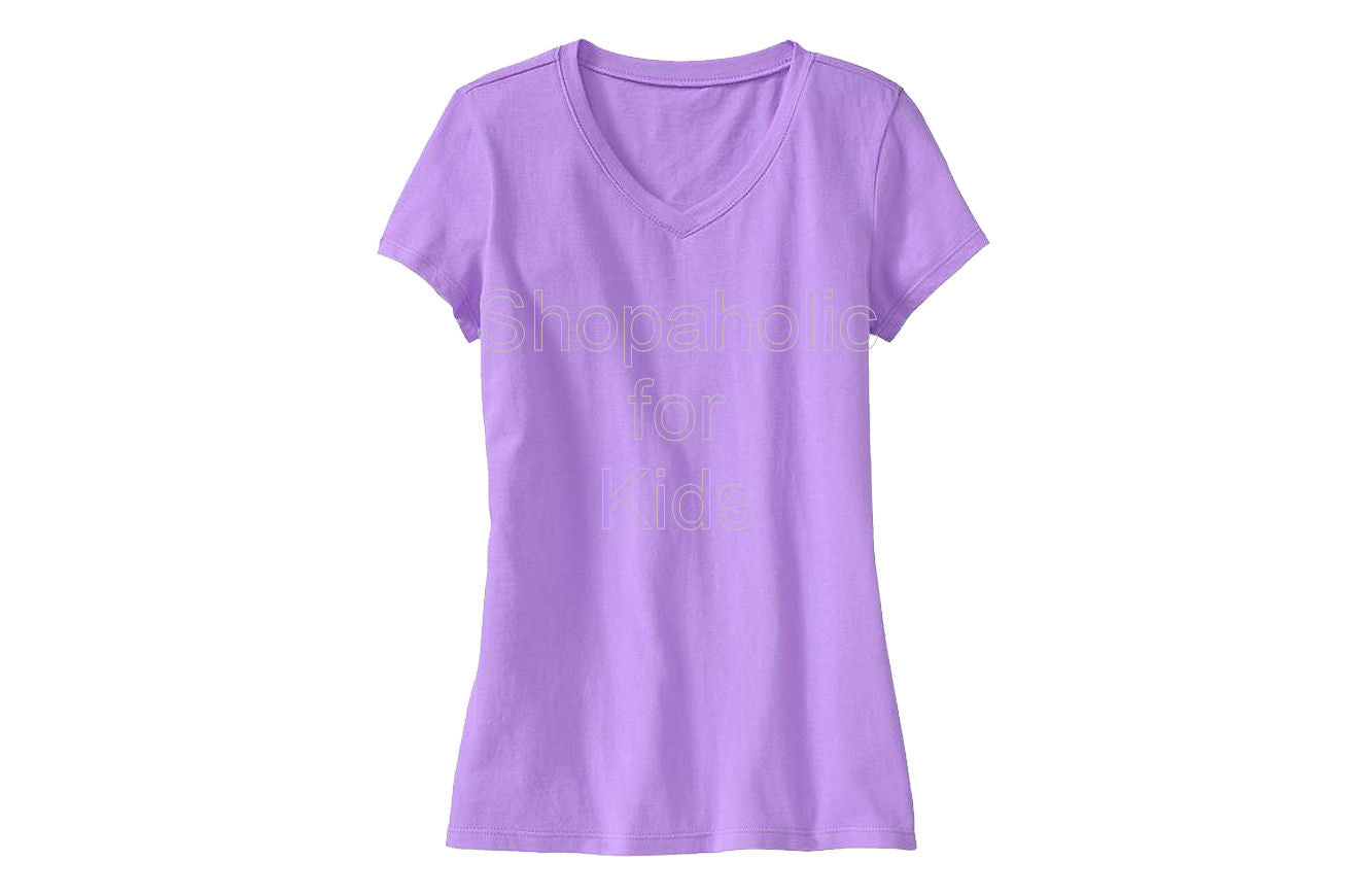 Old Navy Girls V-Neck Tees French Violet - Shopaholic for Kids
