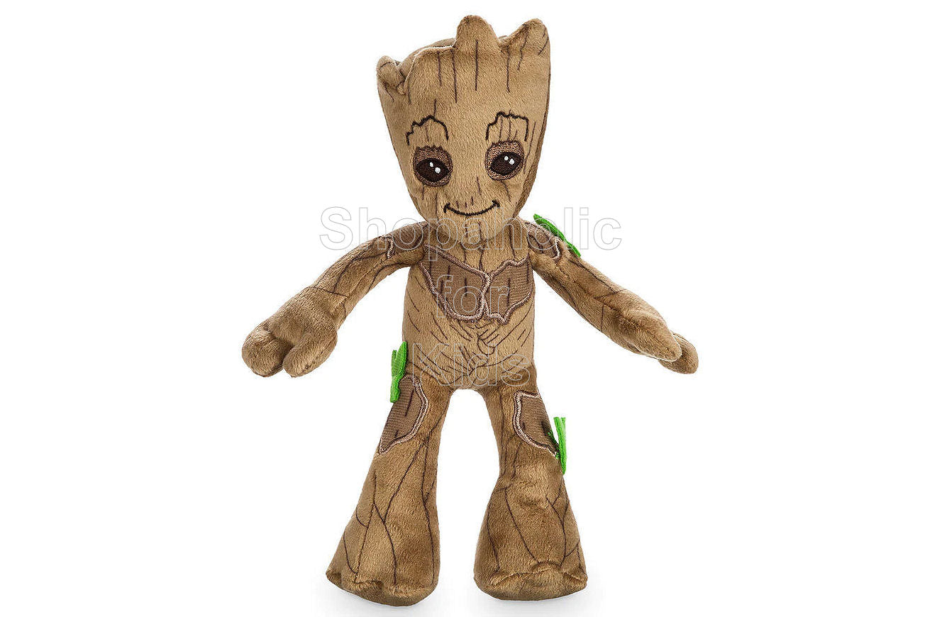 Marvel Groot Plush - Guardians of the Galaxy Vol. 2 - Mini Bean Bag - 8 1/2'' - Shopaholic for Kids