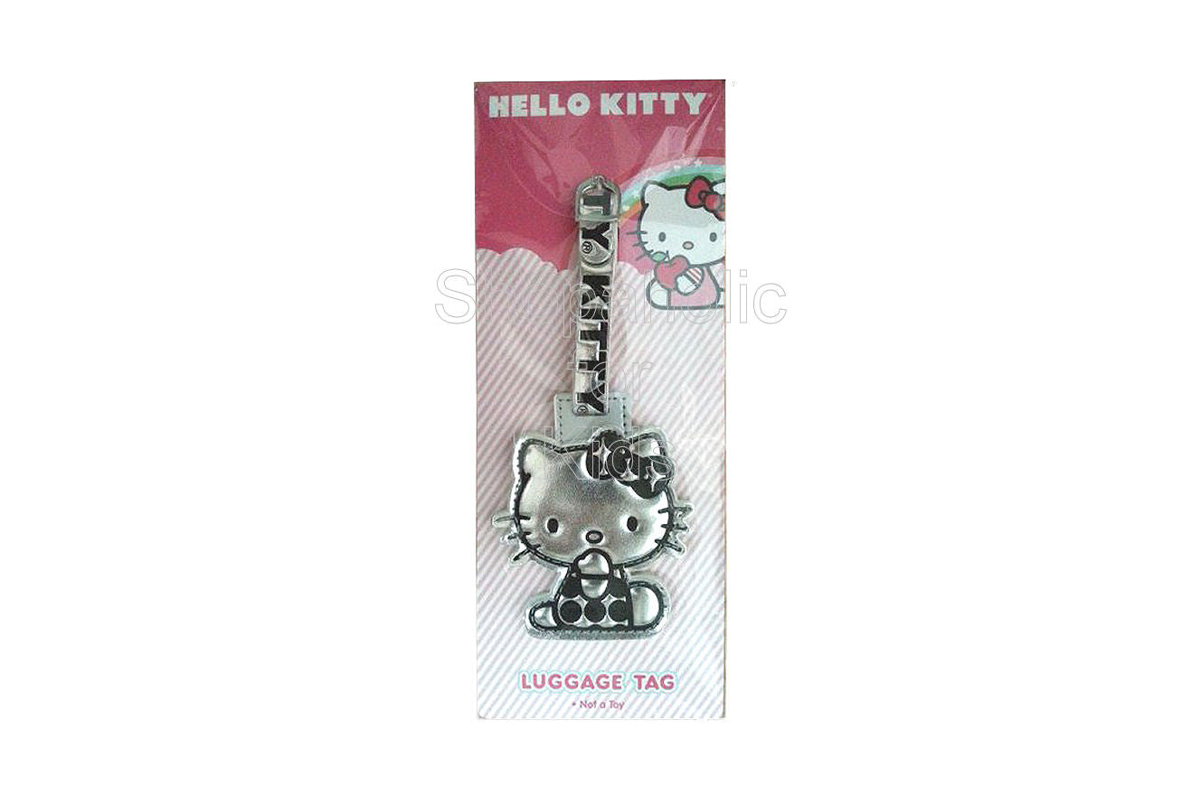 Hello Kitty Luggage Tag - Shopaholic for Kids