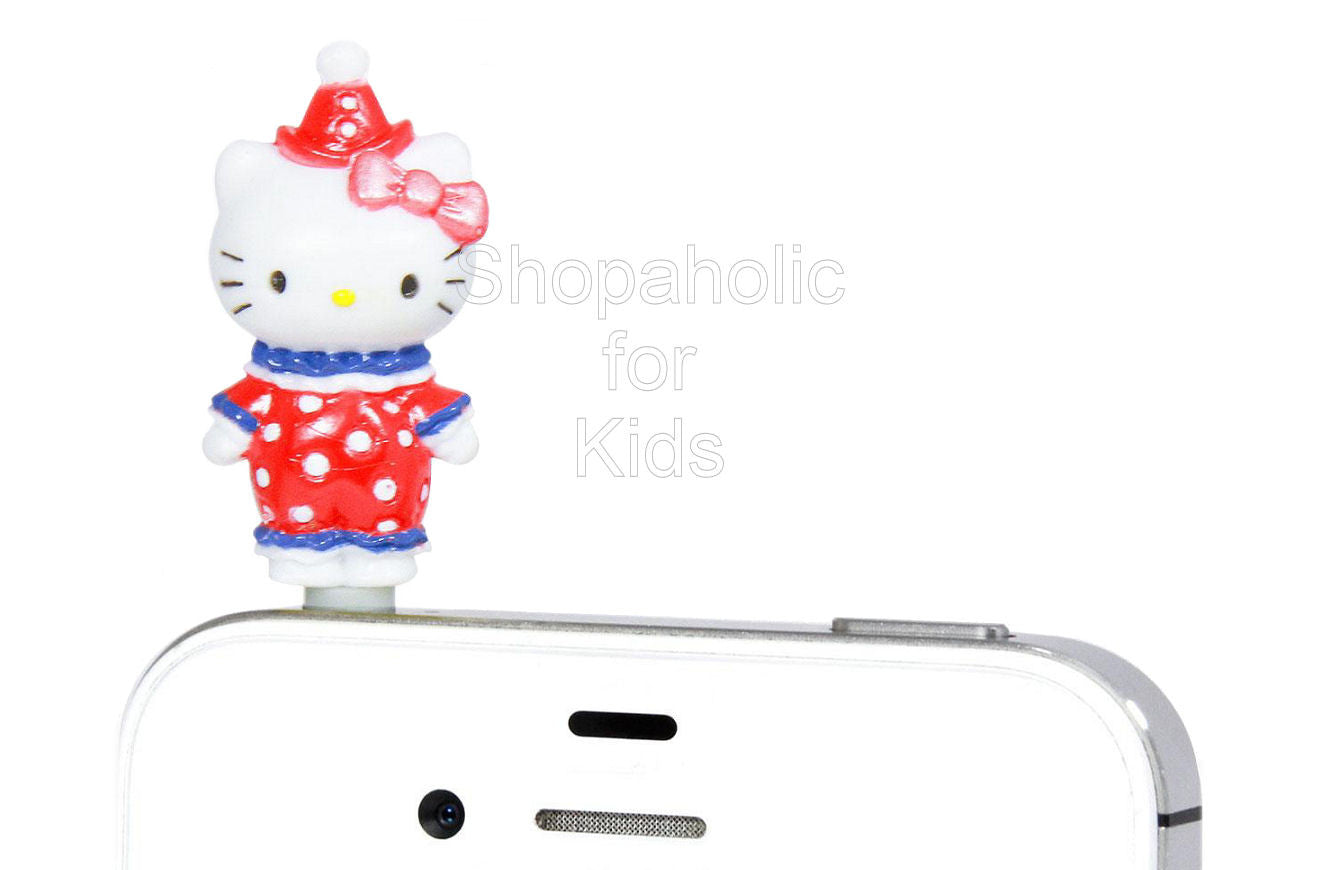 Hello Kitty Phone Jack - Mascot Clown - Shopaholic for Kids