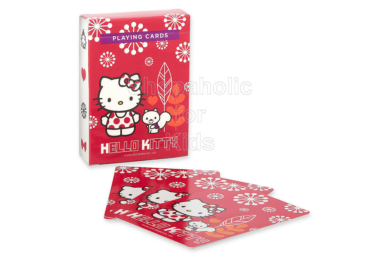 Hello Kitty Playing Cards - Shopaholic for Kids