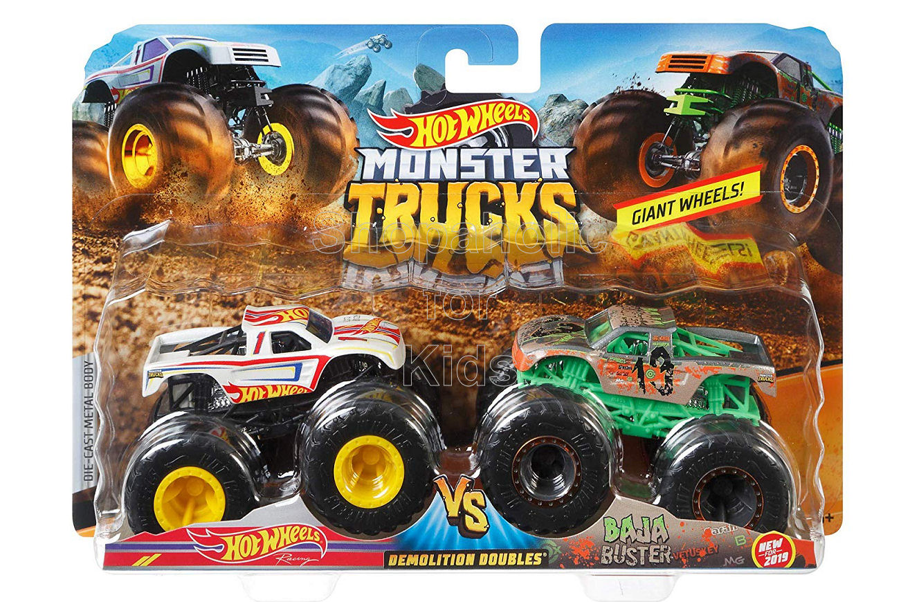 Hot Wheels Demolition Doubles Hot Wheels vs Baja Buster