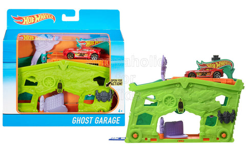 Hot Wheels Ghost Garage Play Set