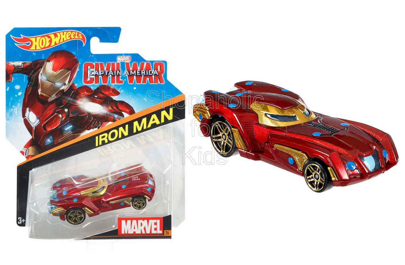 Hot Wheels Marvel Iron Man Car - Shopaholic for Kids
