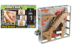 Hot Wheels Minecraft Track Blocks Abandoned Mineshaft Play Set
