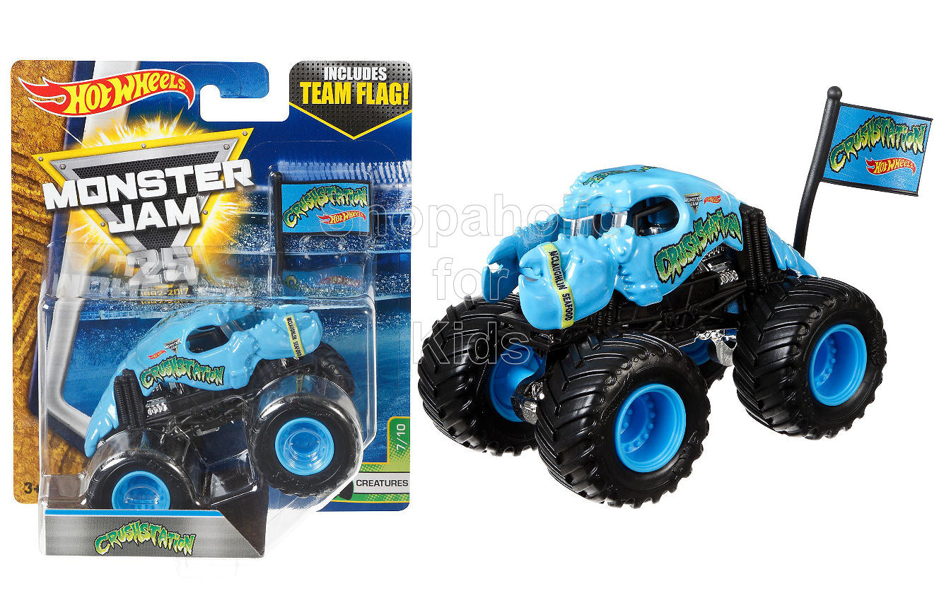 Hot Wheels Monster Jam Crushstation Vehicle