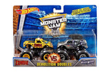 Hot Wheels Monster Jam Demolition Doubles Zombie vs Mohawk Warrior