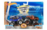 Hot Wheels Monster Jam Demolition Doubles Son-Uva Digger vs Zombie Hunter