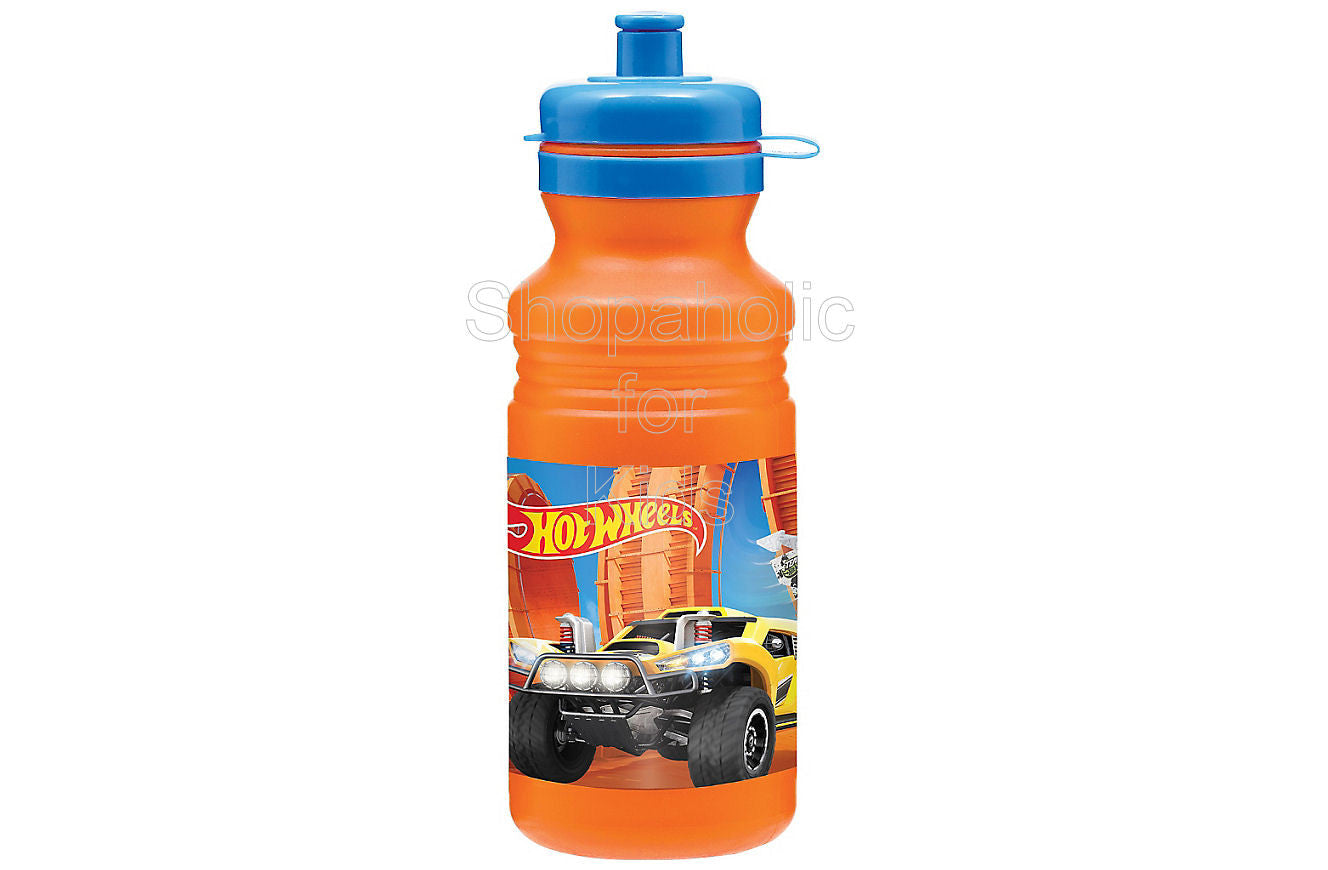 Hot Wheels Water Bottle 18oz - Shopaholic for Kids