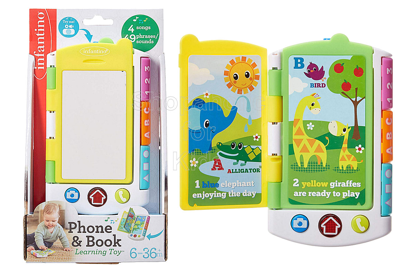 Infantino Phone and Book Learning Toy